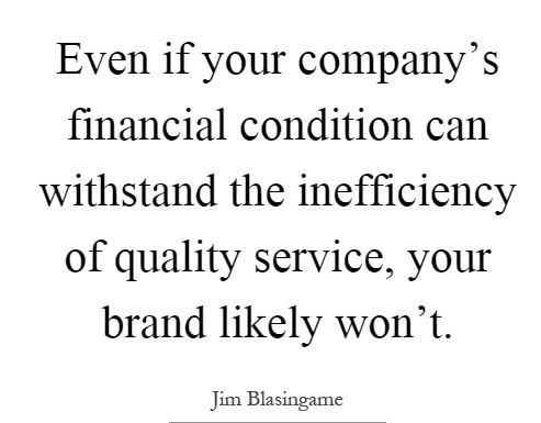 Qualità del Servizio - Brand Image